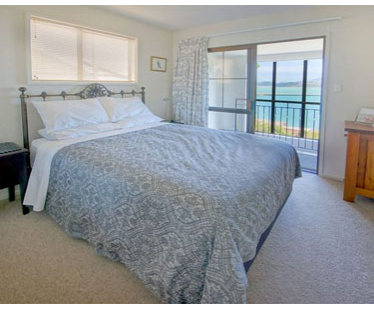 Dockside Two Bedroom Apartment Bed