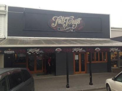 Front of Fat Tony's