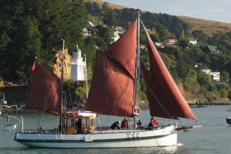 Fox 2 Sailboat in Akaroa