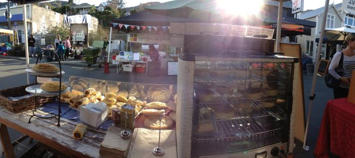 Hope River Pies at Lyttelton Market