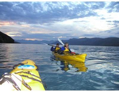 Kayaking with Living Springs in Lyttelton Harbour