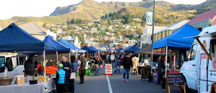 Lyttelton Farmers Market Street View West