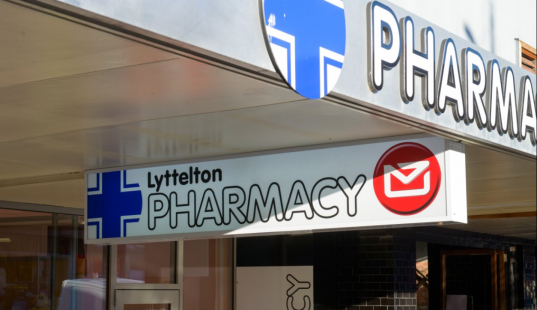 Lyttelton Pharmacy outside