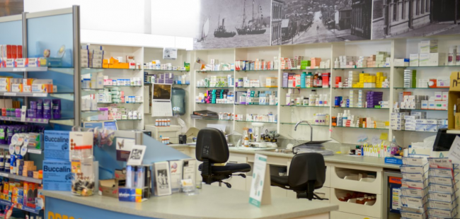 Lyttelton Pharmacy Pharmacy Section
