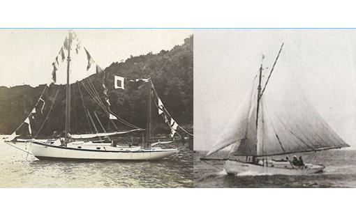 Oyster of Jack Tar Sailing in 1900
