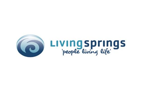 Living Springs Logo Wide